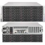 Supermicro SSG-5048R-E1CR36L SuperStorage Server LGA2011 1280W 4U Rackmount Server Barebone System (Black)