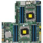 Supermicro X10DRW-E Server Motherboard - Intel Chipset - Socket LGA 2011-v3 - 1 TB DDR4 SDRAM Maximum RAM - 16 x Memory Slots - Gigabit Ethernet - 3 x RJ-45 - 10 x SATA Interfaces