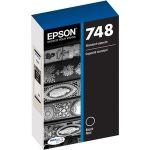 Epson DURABrite Pro 748 Ink Cartridge - Black - Inkjet - Standard Yield - 2500 Pages - 1 Pack