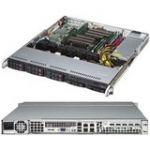 Supermicro SYS-1028R-MCT SuperServer Dual LGA2011 600W 1U Rackmount Server Barebone System (Black)