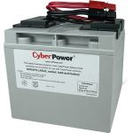 CyberPower RB12170X2A UPS Replacement Battery Cartridge for PR1500LCD - 17000 mAh - 12 V DC - Sealed Lead Acid (SLA) - Leak Proof/Maintenance-free - 3 Year Minimum Battery Life - 5 Year