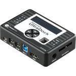 WiebeTech Forensic UltraDock FUDv5.5 Drive Dock External - Serial ATA/300  PCI Express  IDE - eSATA  USB 3.0  FireWire/i.LINK 800 - Aluminum