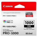 Canon PFI-1000 Original Ink Cartridge - Photo Black - Inkjet - 2205 Photos