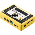 WiebeTech Forensic ComboDock v5.5 Drive Dock - FireWire/i.LINK 800  USB 3.0  eSATA Host Interface External - Aluminum