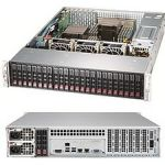 Supermicro SSG-2028R-ACR24L 2U RM E5-2600V3 S201124X2.5'  920W  Server Barebone System (Black)