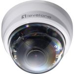LevelOne 2 Megapixel Network Camera - Color - 65.62 ft Night Vision - H.264  Motion JPEG  MPEG-4 - 1920 x 1080 - 3 mm - 9 mm - 3x Optical - CMOS - Cable - Dome - Ceiling Mount