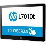 HP L7010t 10.1in LCD Touchscreen Monitor - 16:10 - 30 ms - Projected Capacitive - Multi-touch Screen - 1280 x 800 - WXGA - 16.7 Million Colors - 800:1 - 220 Nit - LED Backlight - Astero