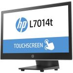 HP L7014t 14in LED Touchscreen Monitor - 16:9 - 16 ms - 14in Class - Projected Capacitive - 1366 x 768 - WXGA - 14.4 Million Colors - 350:1 - 200 Nit - LED Backlight - Black  Asteroid -