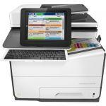 HP PageWide Enterprise 586 586z Page Wide Array Multifunction Printer - Color - Copier/Fax/Printer/Scanner - 50 ppm Mono/50 ppm Color Print - 2400 x 1200 dpi Print - Automatic Duplex Pr