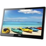 AOC I1659FWUX 16in Full HD LED LCD Monitor - 16:9 - Glossy Piano Black - 1920 x 1080 - 262000 Colors - 220 Nit - 25 ms