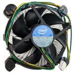 Intel-IMSourcing Cooling Fan/Heatsink - 1 x 90 mm - 4-pin Molex - Socket H2 LGA-1155  Socket H LGA-1156 Compatible Processor Socket - Aluminum - Bulk