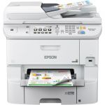 Epson WorkForce Pro WF-6590 Inkjet Multifunction Printer - Color - Copier/Fax/Printer/Scanner - 4800 x 1200 dpi Print - Automatic Duplex Print - 1200 dpi Optical Scan - 580 sheets Input