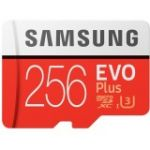 Samsung 256GB MicroSDXC EVO Memory Card with Adapt