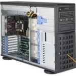 Supermicro SuperWorkstation SYS-7049P-TR Dual LGA 3647 1280W Redundant PSU 4U Rackmount/Tower Workstation Barebone System (Black)