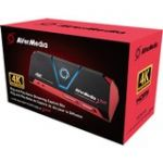 AVerMedia Live Gamer Portable 2 Plus - Functions: Video Game Capturing  Video Game Recording  Video Game Streaming - USB 2.0 - 4096 x 2160 - Audio Line In - PC  Mac - Portable