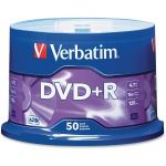 Verbatim AZO DVD+R 4.7GB 16X with Branded Surface - 50pk Spindle - 120mm - Single-layer Layers - 2 Hour Maximum Recording Time