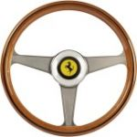 Thrustmaster Ferrari 250 GTO Wheel Add-On - Black  Silver  Brown  Yellow