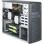 Supermicro SuperWorkstation 7039A-i Barebone System Mid-tower - Intel C621 Chipset - Socket P LGA-3647 - 2 x Processor Support - Black - 2 TB DDR4 SDRAM DDR4-2666/PC4-21300 Maximum RAM