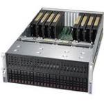 Supermicro SYS-4029GP-TRT2 SuperServer 4U Rackmount Barebone - Intel C622 - 2x Socket P LGA 3647 - 8x MI25 24 DDR4 DIMM Slots Du