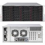 Supermicro SuperStorage 6049P-E1CR24H Barebone System - 4U Rack-mountable - Intel C624 Chipset - Socket P LGA-3647 - 2 x Processor Support - Black - 2 TB DDR4 SDRAM DDR4-2666/PC4-21300