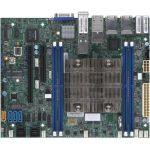 Supermicro X11SDV-8C-TP8F Server Motherboard - Intel Xeon D-2146NT - 512 GB DDR4 SDRAM Maximum RAM - RDIMM  LRDIMM  DIMM - 4 x Memory Slots - Gigabit Ethernet - 2 x USB 3.0 Port - 12 x