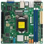 Supermicro X11SCL-IF Server Motherboard - Intel Chipset - Socket H4 LGA-1151 - 64 GB DDR4 SDRAM Maximum RAM - DIMM  UDIMM - 2 x Memory Slots - Gigabit Ethernet - 2 x USB 3.1 Port - 2 x