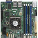 Supermicro A2SDi-8C-HLN4F Server Motherboard - Intel Chipset - Socket BGA-1310 - Intel Atom C3758 - 256 GB DDR4 SDRAM Maximum RAM - DIMM  UDIMM  RDIMM - 4 x Memory Slots - Gigabit Ether