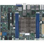 Supermicro X11SDV-4C-TP8F Server Motherboard - Intel Chipset - Socket BGA-2518 - Intel Xeon D-2123IT - 512 GB DDR4 SDRAM Maximum RAM - RDIMM  LRDIMM  DIMM - 4 x Memory Slots - Gigabit E