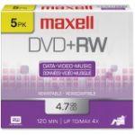 Maxell 4x DVD+RW Media - 120mm 10503028