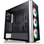 Thermaltake Level 20 MT ARGB Mid Tower Chassis - Mid-tower - Black - SPCC  Tempered Glass - 6 x Bay - 4 x 4.72in x Fan(s) Installed - Mini ITX  Micro ATX  ATX Motherboard Supported - 14
