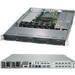 Supermicro SYS-5019C-WR SuperServer LGA1151 1U Rackmount Server Barebone System (Black)