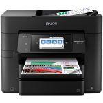 Epson WorkForce Pro EC-4040 Inkjet Multifunction Printer - Color - Copier/Fax/Printer/Scanner - 4800 x 1200 dpi Print - Automatic Duplex Print - 1200 dpi Optical Scan - 500 sheets Input