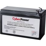 CyberPower RB1290X2 Battery Unit - 9000 mAh - 12 V DC - Lead Acid - Leak Proof/Sealed