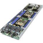 Intel HNS2600BPBR Barebone System - 2U Rack-mountable - Intel C621 Chipset - 1 Number of Node(s) - 2 x Processor Support - 2.80 TB DDR4 SDRAM DDR4-2933/PC4-23466 Maximum RAM Support - S