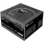 Thermaltake PS-TPD-0650FNFAGU-1 Toughpower GF1 650W Power Supply Fully Modular 80+ Gold Rated Black