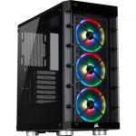Corsair CC-9011188-WW iCUE 465X RGB Mid-Tower ATX Smart Case Black