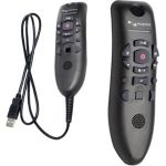 Nuance PowerMic III Wired Microphone - 9 ft - Mono - 20 Hz to 16 kHz - Uni-directional - Handheld - USB