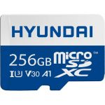 Hyundai 256GB 100MB/s (U3) MicroSD Memory Card with Adapter  4K Video  Ultra HD (SDC256GU3) - ? Up to 85MB/s write speeds for fast shooting; Requires compatible devices capable of reach