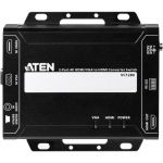 Aten VC1280 2-Port 4K HDMI/VGA to HDMI Converter Switch - Functions: Signal Conversion  Video Switcher - 3840 x 2160 - VGA - Audio Line In - 1 Pack - Rack-mountable