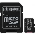 Kingston SDCS2/128GB 128GB microSDXC Class 10UHS-I Memory Card + Adapter 100 MB/s Read