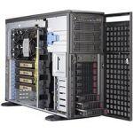 Supermicro SuperWorkstation 5049A-TR Barebone System - 4U Tower - Intel C621 Chipset - Socket P LGA-3647 - 1 x Processor Support - Black - 3 TB DDR4 SDRAM DDR4-2933/PC4-23466 Maximum RA