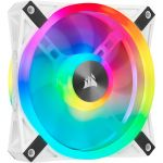 Corsair CO-9050103-WW iCUE QL120 RGB 120mm White Fan PWM 26dBA 525-1500 RPM