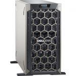 Dell EMC PowerEdge T340 5U Tower Server - 1 x Xeon E-2234 - 8 GB RAM - 1 TB (1 x 1 TB) HDD - Serial ATA Controller - 1 Processor Support - 64 GB RAM Support - Gigabit Ethernet - 8 x LFF