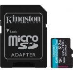 Kingston Canvas Go! Plus 512 GB Class 10/UHS-I (U3) microSDXC - 170 MB/s Read - 90 MB/s Write - Lifetime Warranty