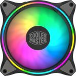 Cooler Master MFL-B2DN-18NPA-R1 MasterFan MF120Halo Cooling Fan 30dB(A) 4-pin PWM 3pin RGB ARGB 120mm Black