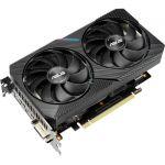 ASUS DUAL-GTX1660S-O6G-MINI Dual GeForce GTX 1660SUPER MINI OC Edition 6GB GDDR6 HDMI DisplayPort DVI PCIe 3.0 1x 8-pin