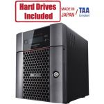Buffalo TeraStation 6400DN 16TB (2 x 8TB) Desktop NAS Hard Drives Included + Snapshot - Intel Atom C3538 Quad-core (4 Core) 2.10 GHz - 4 x HDD Supported - 2 x HDD Installed - 16 TB Inst
