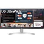 LG Ultrawide 29WN600-W 29in UW-UXGA LCD Monitor - 21:9 - 29in Class - In-plane Switching (IPS) Technology - 2560 x 1080 - 16.7 Million Colors - FreeSync - 250 Nit - 5 ms GTG (Fast) - HD