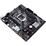 Asus PRIME H410M-E mATX Motherboard Intel 10th Gen Socket LGA 1200 DDR4 2933 (Max 64GB) 1x M.2 Slot Gigabit Ethernet Realtek