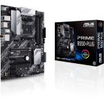 Asus PRIME B550-PLUS ATX Motherboard Socket AM4B550 Chipset DDR4 4800MHz (Max 128GB) 2x M.2 Slots USB 3.2 Gen 2